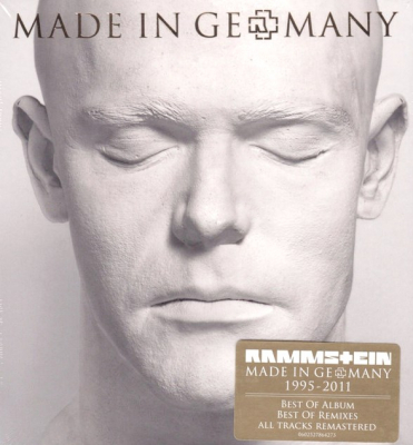 Rammstein ‎– Made In Germany 1995-2011 (2xCD)
