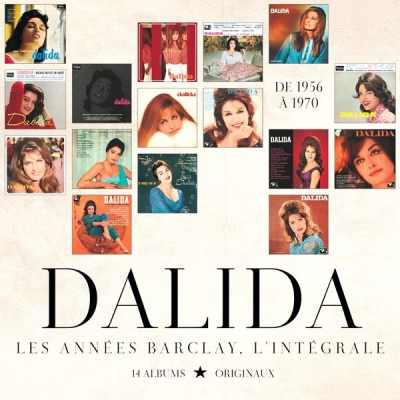Dalida ‎– Les Annees Barclay (14xCD, Box Set)