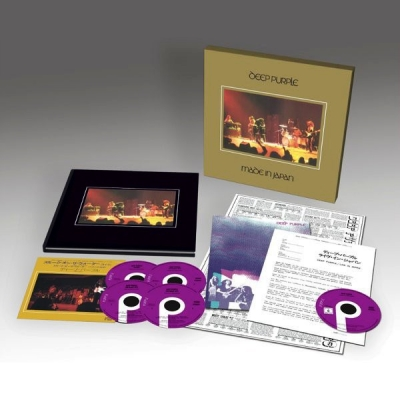 Deep Purple ‎– Made In Japan (4xCD, DVD, Vinyl, 7
