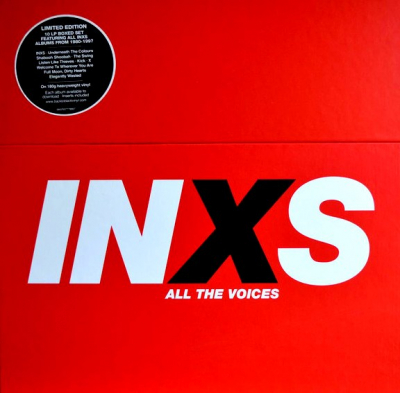 INXS ‎– All The Voices (10xLP)