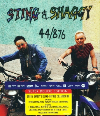 Sting & Shaggy ‎– 44/876 (2xCD, Deluxe Edition, Limited Edition)