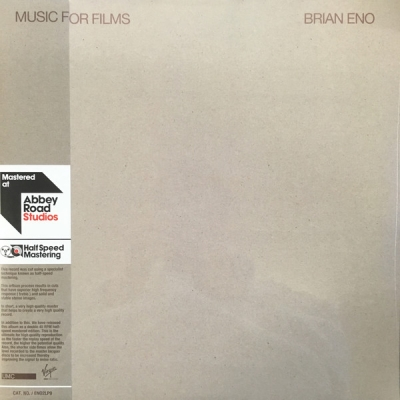 Brian Eno ‎– Music For Films (2xLP)