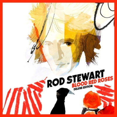 Rod Stewart ‎– Blood Red Roses