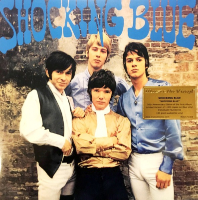 Shocking Blue ‎– Shocking Blue (Limited Edition, Numbered, Remastered, Blue)