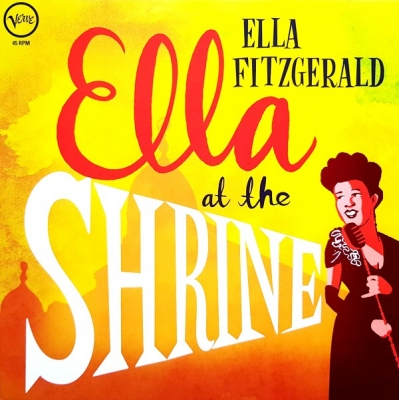 Ella Fitzgerald ‎– Ella At The Shrine