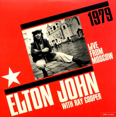 Elton John With Ray Cooper ‎– Live From Moscow (2xLP, Limited Edition)