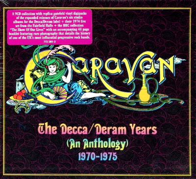 Caravan ‎– The Decca/Deram Years (An Anthology) 1970-1975 (9xCD, Limited Edition Box Set)