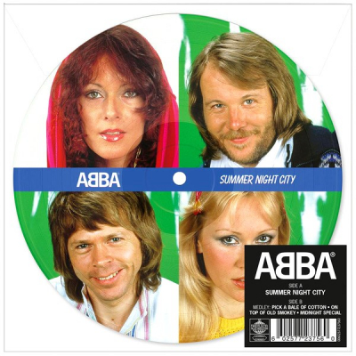 ABBA ‎– Summer Night City (Vinyl, 7
