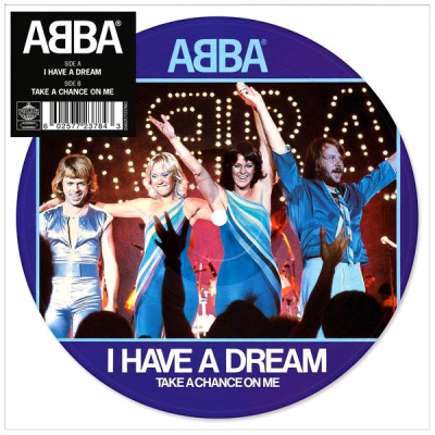 ABBA ‎– I Have A Dream (A Man After Midnight) (Vinyl, 7