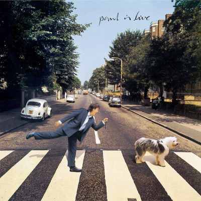 Paul McCartney ‎– Paul Is Live (2xLP)