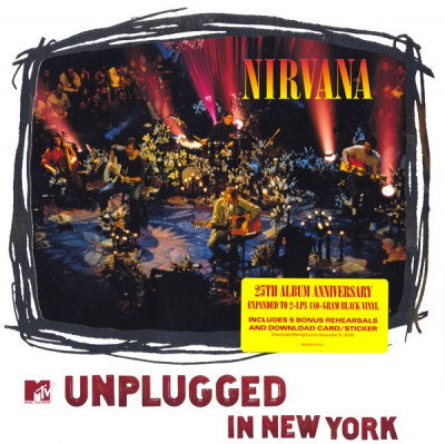 Nirvana ‎– MTV Unplugged In New York (2xLP, Limited Edition, 25th Album Anniversary)