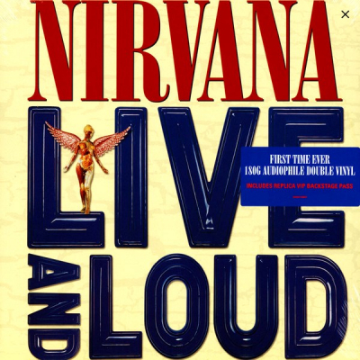 Nirvana ‎– Live And Loud (2xLP)