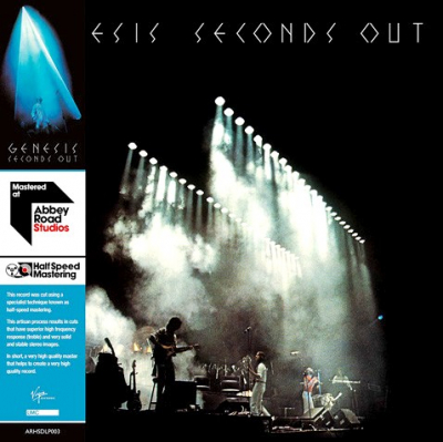 Genesis ‎– Seconds Out (2xLP, Mastered At Abbey Road Studios - Half Speed Mastering)