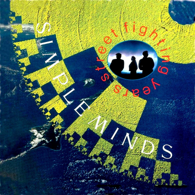 Simple Minds ‎– Street Fighting Years (2xLP)