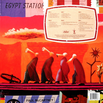 Paul McCartney ‎– Egypt Station - Explorer's Edition (3xLP)