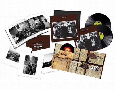 The Band ‎– The Band (50th Anniversary Super Deluxe Edition, 3xLP, 2xCD, Blu-ray Audio, Book)
