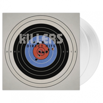 The Killers ‎– Direct Hits (2xLP, Clear Vinyl)