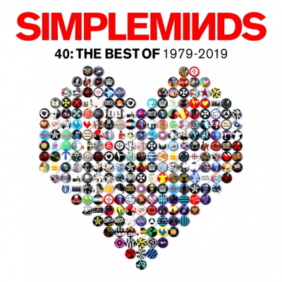 Simple Minds ‎– 40: The Best Of 1979-2019