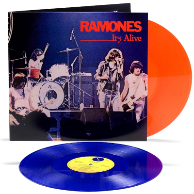 Ramones ‎– It's Alive (2xLP, 40th Anniversary Edition, Red & Blue Vinyl)