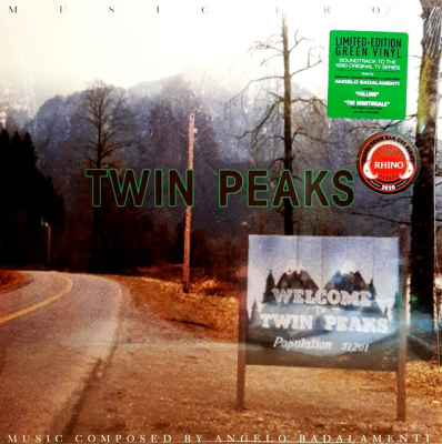 Angelo Badalamenti ‎– Music From Twin Peaks (Limited Edition, Reissue, Green)