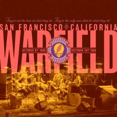 Grateful Dead – The Warfield, San Francisco, CA 10/9/80 & 10/10/80 (2xCD)
