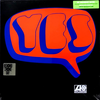 Yes ‎– Yes (2xLP, Limited Edition, 50th Anniversary Edition)