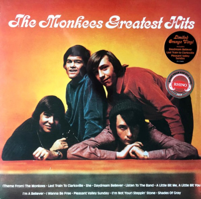 The Monkees ‎– The Monkees Greatest Hits (Orange)
