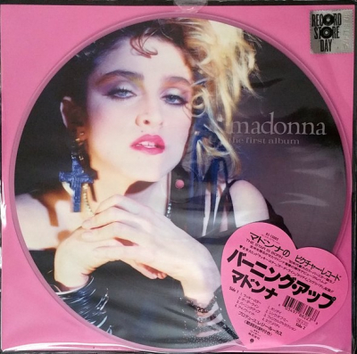 Madonna ‎– The First Album (Picture Disc)