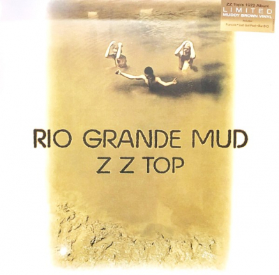 ZZ Top ‎– Rio Grande Mud (Limited Edition, Reissue, Brown Muddy)