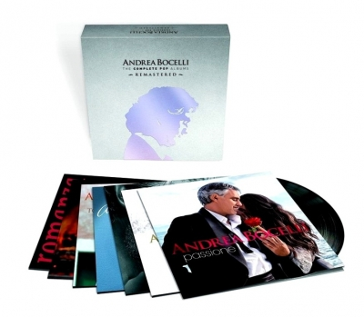 Andrea Bocelli The Complete Pop Albums (14xLP)