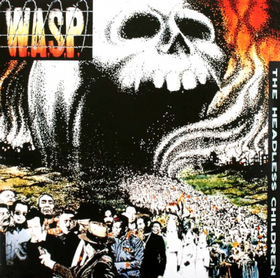 W.A.S.P. ‎– The Headless Children (Magenta Transparent)