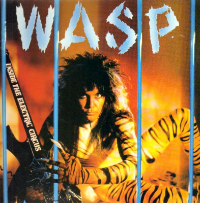 W.A.S.P. ‎– Inside The Electric Circus (Blue)