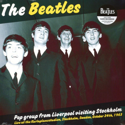 The Beatles ‎– Pop Group From Liverpool Visiting Stockholm