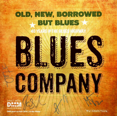Blues Company ‎– Old, New, Borrowed But Blues (2xLP)