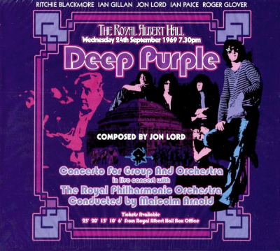 Deep Purple, The Royal Philharmonic Orchestra, Malcolm Arnold ‎– Concerto For Group And Orchestra (2xCD)