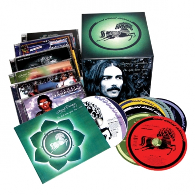 George Harrison ‎– The Dark Horse Years 1976 - 1992 (8xCD, DVD, Box Set)