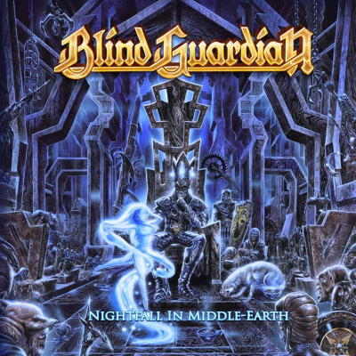 Blind Guardian ‎– Nightfall In Middle-Earth (2xLP, Limited Edition, White with Purple Splatter)