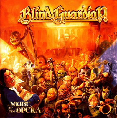 Blind Guardian ‎– A Night At The Opera (2xLP, Limited Edition, Yellow)