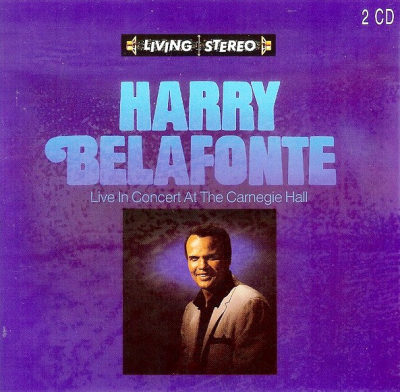 Harry Belafonte ‎– Live In Concert At The Carnegie Hall (2xCD)