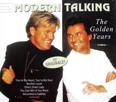 Modern Talking ‎– The Golden Years (3xCD)
