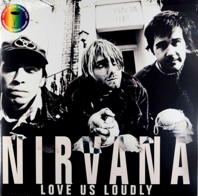 Nirvana ‎– Love Us Loudly (2xLP)