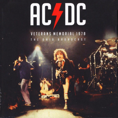 AC/DC ‎– Veterans Memorial 1978 The Ohio Broadcast (Limited Edition, Red)