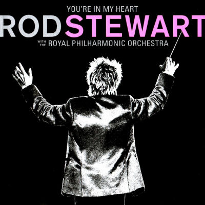 Rod Stewart With The Royal Philharmonic Orchestra ‎– You're In My Heart (2xLP, Pink)