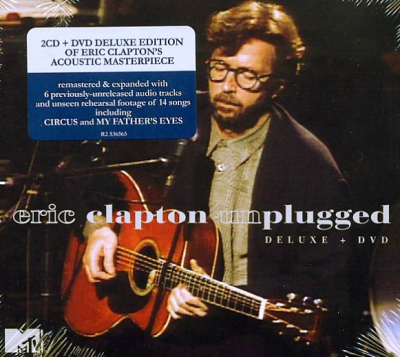 Eric Clapton ‎– Unplugged (2xCD+DVD, Limited Edition)
