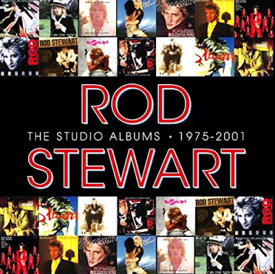 Rod Stewart ‎– The Studio Albums 1975 - 2001 (14xCD, Box Set, Limited Edition)