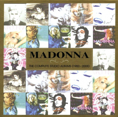 Madonna ‎– The Complete Studio Albums (1983 - 2008)