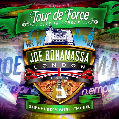 Joe Bonamassa ‎– Tour De Force - Live In London - Shepherd's Bush Empire (2xCD)