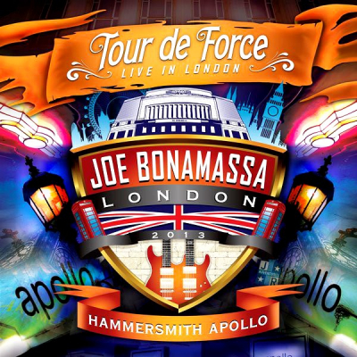 Joe Bonamassa ‎– Tour De Force - Live In London - Hammersmith Apollo (2xCD)