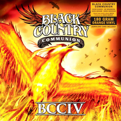Black Country Communion ‎– BCCIV (2xLP, Limited Edition, Orange)