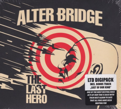 Alter Bridge ‎– The Last Hero (Limited Edition, Digipak)